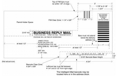 BRM envelope