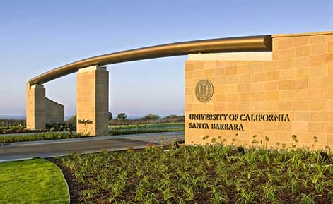 Henley gate ucsb entrance