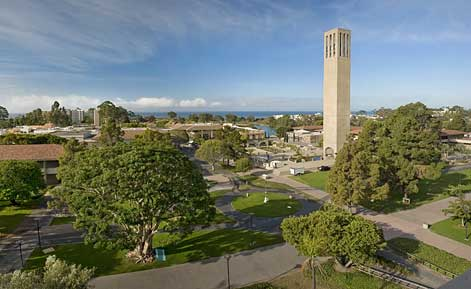ucsb storke tower view